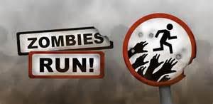 RUN! RUN! IT'S AZOMBIE!
