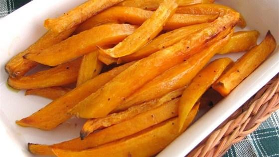 Sweet and Spicy Sweet Potato BakedFries