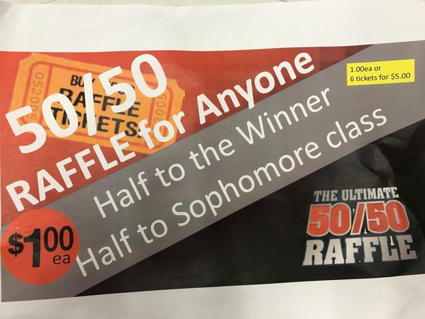 Sophomore Class Raffle