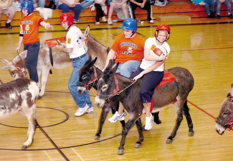 Dairyland Donkey Basketball
