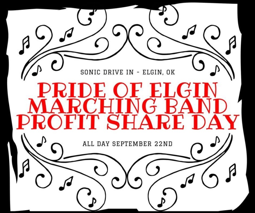 Annual Pride of Elgin Marching Band Profit Share Day