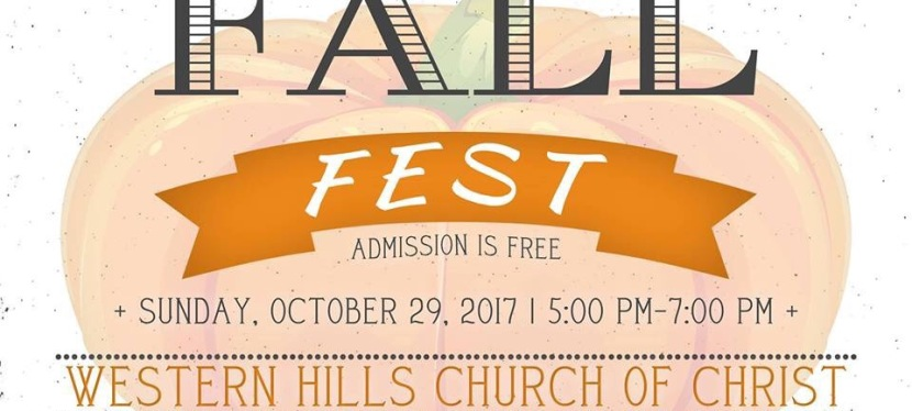 Fall Fest at Western Hills Church of Christ