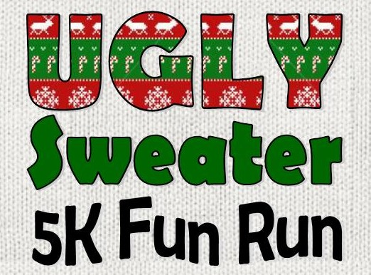 Elgin's first Annual Ugly Sweater 5k run