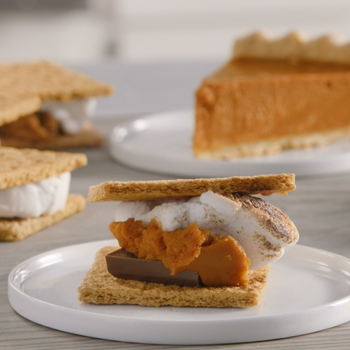 Pumpkin Pie S'more