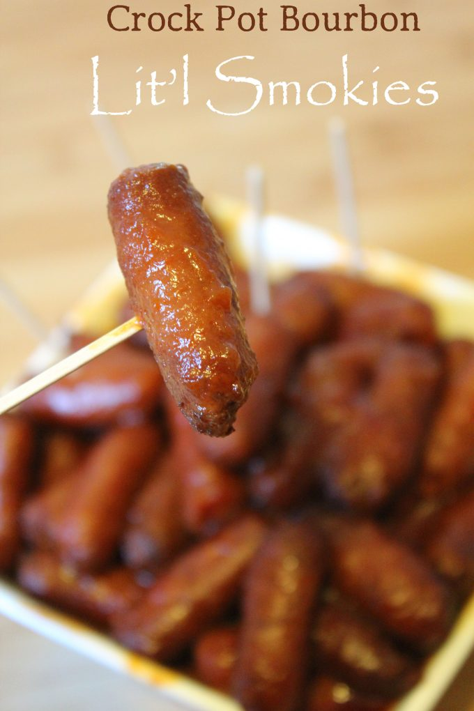 Slow-Cooker Bourbon Smokies
