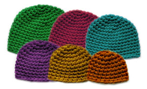 crochet-thick-family-beanie-set