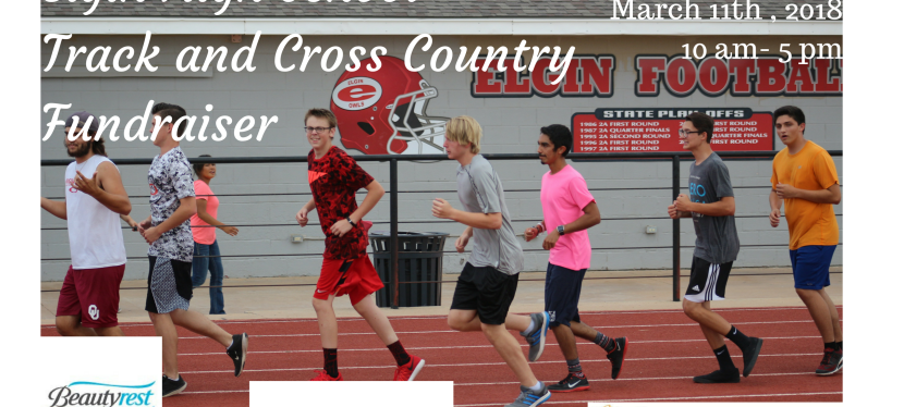 Track and Cross CountryFundraiser