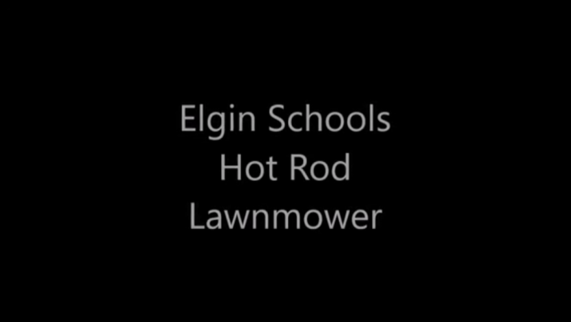 Lawnmower Hot Rod.